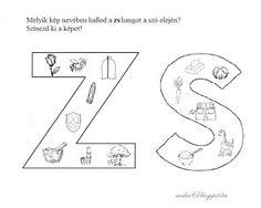 Játékos tanulás és kreativitás: Kisbetűkben képek a hangfelismerés gyakorlásához 2.