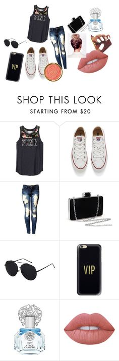 """aw summer sixteen"" by roseat98 on Polyvore featuring Converse, Casetify, Vince Camuto, Lime Crime and Milani"