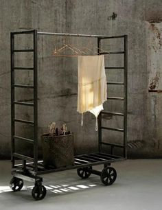 Inspirational images and photos of Clothing Racks : Remodelista