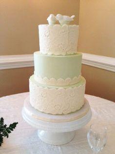 DeClare Cakes Charleston SC Wedding Cake Trendy Eclectic