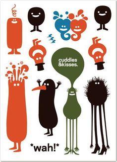 cuddles & kisses by Genevieve Gauckler