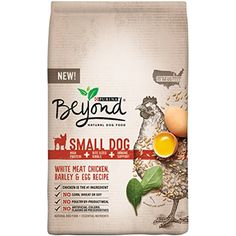 Purina Beyond Natural Dry Dog Food, Small Dog Blend, White Meat Chicken, Barley and Egg Recipe, 14.5-Pound Bag, Pack of 1 @@@ Do you want additional info? Click on the image. (This is an affiliate link and I receive a commission for the sales)