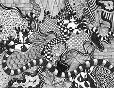 zentangle 1   Jaimee Cooke Visual Language 1