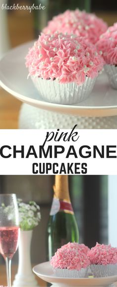 Pink Champagne Cupcakes + a KitchenAid Chopper giveaway! #cookforthecure #10000cupcakes #donate ad @KitchenAid
