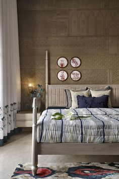 Traditional Bedroom, Bedroom Interior, Luxurious Bedrooms, Home Room Design, Bed Design, Master Bedrooms Decor, Interior Design Bedroom, Pinterest Room Decor, House Interior Decor