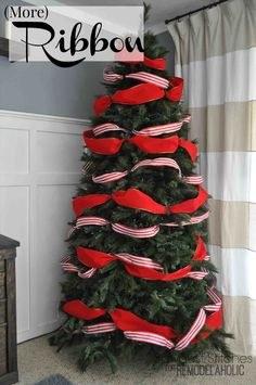 new post how to decorate a christmas tree with ribbon horizontally - How To Decorate A Christmas Tree With Ribbon Horizontally