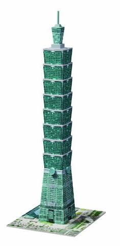 Ravensburger Taipei 101 Tower 216 Piece Jigsaw Puzzle for Kids and Adults - Easy Click Technology Means Pieces Fit Together Perfectly