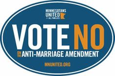FREE Vote No On The Anti-Marriage Amendment Sticker on http://www.icravefreebies.com