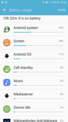Android system taking more battery than screen? S7 Phone, Tips & Tricks, Galaxies, Android, Samsung Galaxy, Diy, Bricolage, Do It Yourself, Homemade