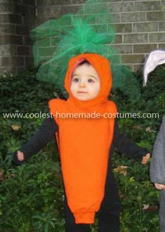 Coolest Carrot Costume