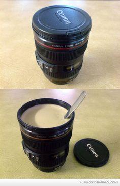 Awesome Canon Lens Mug