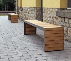 Linares Bench 200 by Westeifel Werke | Exterior benches