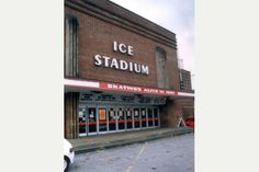 Nottingham's old Ice Stadium pictured in 1995