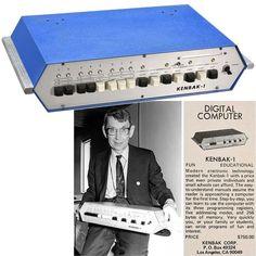World's first personal computer the Kenbak-1 - 1973