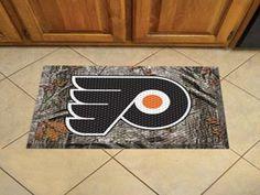 "NHL - Philadelphia Flyers Scraper Mat 19"""" X 30"""""