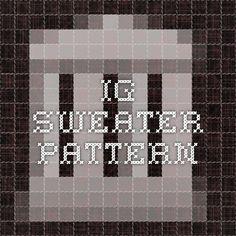 IG Sweater Pattern