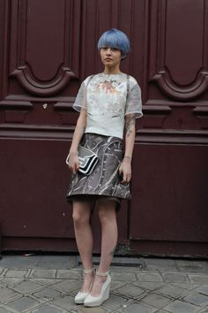 964b3856867 Paris Fashion Week Fall 2012 Attendees Pictures