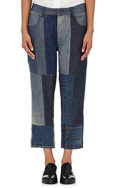 Patchwork Denim - These Bizarre Jean Styles Are Trending Like Crazy - Photos