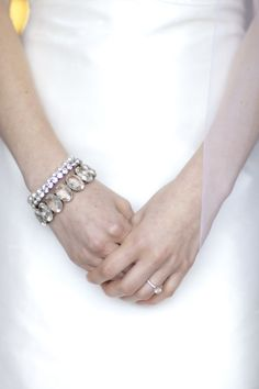 #bracelets    Read More: http://www.stylemepretty.com/2011/07/20/aptos-wedding-by-silvana-di-franco-photography/