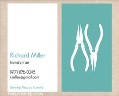 handyman business cards, contractor business cards, electrician business cards…
