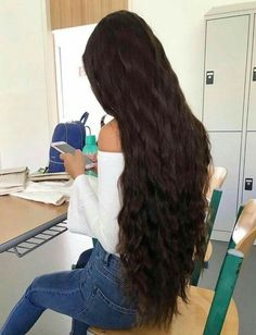 Hairstyles For Long Hair - Women Hairstyle Pictures Beautiful Long Hair, Gorgeous Hair, Waist Length Hair, Silky Smooth Hair, Really Long Hair, Long Dark Hair, Hair Pictures, Hairstyle Pictures, Long Pictures