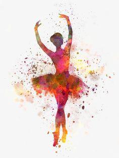 эстетизм балерина, акварель, балерина, танецИзображение PNG