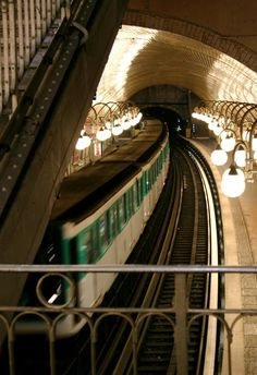 Paris metro - one of the most easily navigable subways in the world. Each stop is an experience of it's own, and that's just below ground.