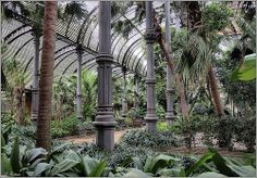 Umbracle parc Ciutadella.