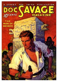 Doc Savage and the Man of Bronze, 1933, Walter Baumhofer