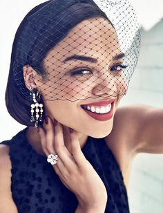 The Creed actress, Tessa Thompson, and California native is on the rise. Photograph by Williams & Hirakawa.