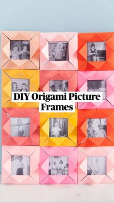Diy Home Crafts, Diy Arts And Crafts, Diy Craft Projects, Easy Crafts, Craft Ideas, Diy Origami, Origami Paper, Oragami, Art For Kids