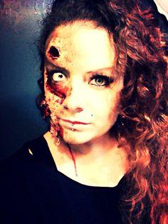 My Halloween makeup 2014!