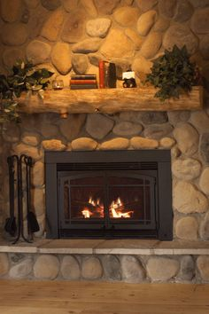 4 Sensational Cool Tricks: Contemporary Fireplace Stone fireplace outdoor though… - Wood Burning Fireplace Inserts Cabin Fireplace, Brick Fireplace Makeover, Shiplap Fireplace, Small Fireplace, Concrete Fireplace, Rustic Fireplaces, Farmhouse Fireplace, Fireplace Remodel, Fireplace Stone
