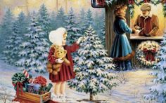 Awesome Christmas Paintings Art: Awesome Christmas Paintings Art