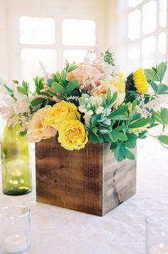 Vibrant blooms: http://www.stylemepretty.com/2015/10/05/colorful-morais-vineyard-wedding-in-virginia/ | Photography: Joey Kennedy Photography - http://www.joeykennedyphotography.com/
