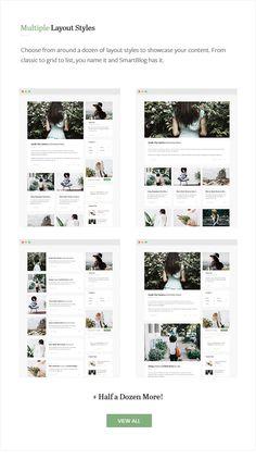 Smartblog- Clean WordPress Blog Theme