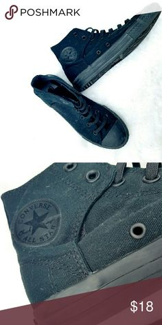 ⬇⬇Girls🌟 Black Converse Converse Converse Shoes Sneakers