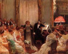 """Jean Beraud (1849-1935) - """"Personnages"""" by sofi01, via Flickr"""