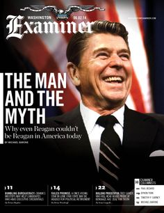 Washington Examiner magazine cover for the June 2 issue | Read the cover story here: http://washingtonexaminer.com/why-even-reagan-couldnt-be-reagan-today/article/2549006