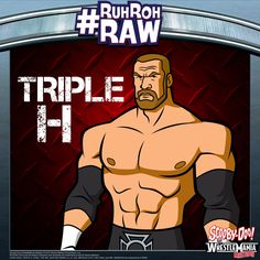 #ScoobyDoo #WWE #RuhRohRaw #TripleH