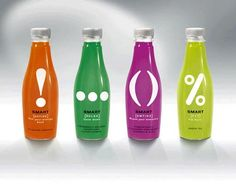 Punctuated energy drinks