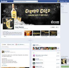 Planejamento e operação da Tequila Cuervo no Facebook
