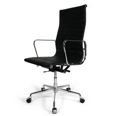eames reproduction high back black leather office chair_China cheap ergonomic…  http://www.letbackrest.com/luxury/eames_reproduction_high_back_black_leather_office_chair_80.html