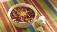 Three Bean and Beef Chili Recipe : Ellie Krieger : Food Network