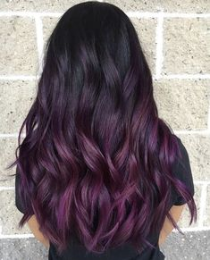 Most recent Free Balayage Hair purple Strategies The particular are recognized for lots of things: thigh-high shoes or boots, bloom electrici Purple Hair Tips, Short Purple Hair, Hair Color Purple, Hair Dye Colors, Cool Hair Color, Ombre Color, Purple Ombre, Pastel Purple, Bright Purple
