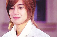 Kim Hyun Joong 김현중 ♡ as Yoon Ji Hoo ♡ smile ♡ laugh ♡ Boys Over Flowers ♡ Kdrama ♡ Kpop ♡ gif