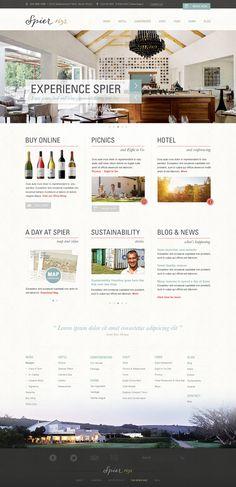 Spier Wine Farm by Lisa McColl, via Behance