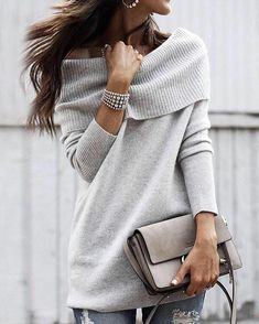 Cute Women casual winter outfits Winter appears to bring an excess element of sophistication to looking adorable. You'll have to understand how to pair colours and make the very best outfits out of clothing in your closet. Casual Winter Outfits, Winter Outfits Women, Trendy Outfits, Fashion Outfits, Womens Fashion, Work Outfits, Ladies Fashion, Fashion Ideas, Winter Dresses