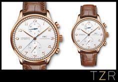 Wanted Watch  IWC Schaffhausen Portuguese Chronograph Timepiece