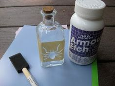 Mega•Crafty: How to Etch Glass- Part 1
